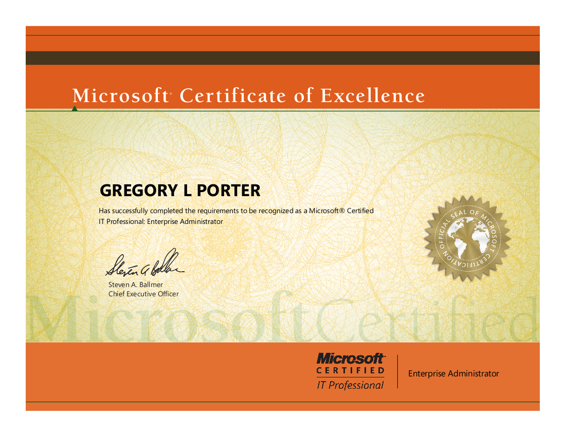 Mcitpea Completed Passed The Microsoft 070 680 Windows 7