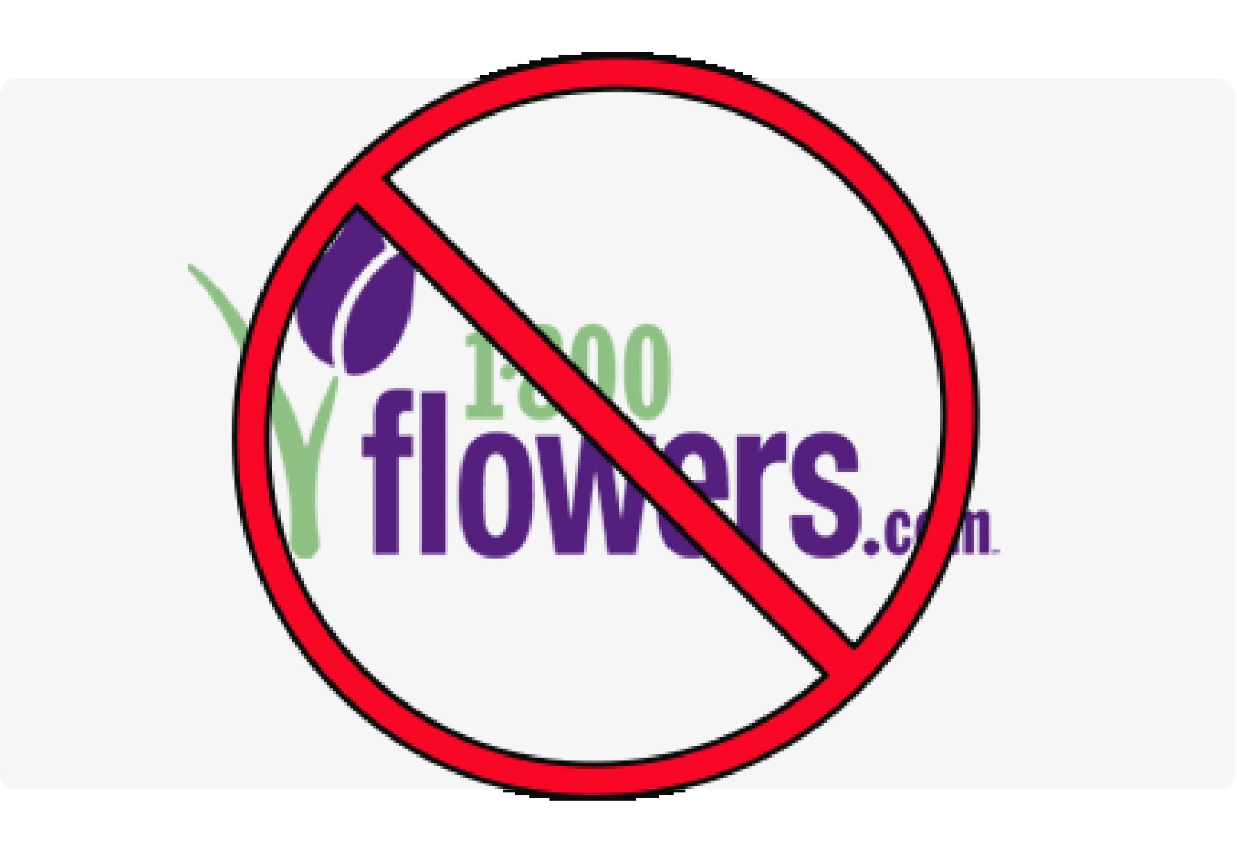 1-800-Flowers? No, thanks.   Greg Porter's Blog